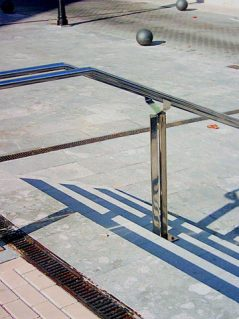 Inoxsistem Pasamanos Escalera Acero Inox