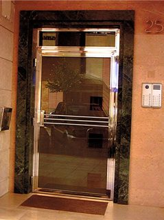 Inoxsistem Puerta Portal Acero Inoxidable(2)